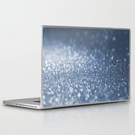 Laptop & iPad Skin featuring Sparkling Sea Foam by Better HOME