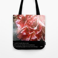 I Wish I Could Show You.… Tote Bag
