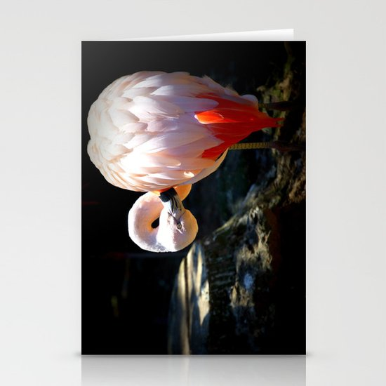 Flamingo Stationery Card