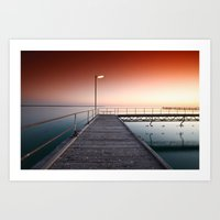 Summers Night Art Print