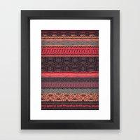 Rosey Framed Art Print