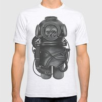 The Dead Diver Mens Fitted Tee Ash Grey SMALL