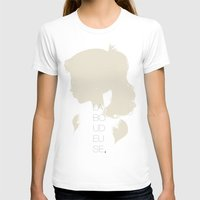 La Boudeuse Womens Fitted Tee White SMALL