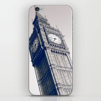 Big Blue Ben iPhone & iPod Skin