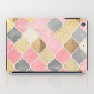 Silver Grey, Soft Pink, … iPad Case