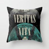Endure Veritas Throw Pillow