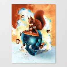 Piece of Mind Canvas Print