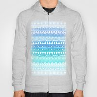 Triangle Gradient Aqua Mix Hoody