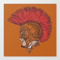 Steampunk-Punk Canvas Print