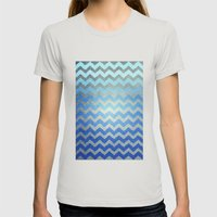 Thinking Of The Sea Womens Fitted Tee Silver SMALL