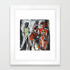 Isms Framed Art Print