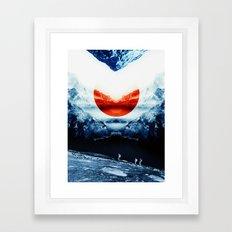 mission blue Framed Art Print