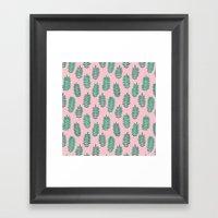 Pattern Project #42 / Fe… Framed Art Print