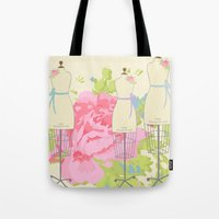 Sewing Room Dress Forms Tote Bag