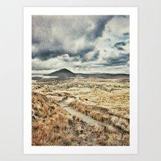Rainbow in Ireland Art Print