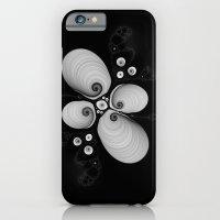 Black and White Fractal 6 iPhone 6 Slim Case