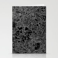 White/Black #1 Stationery Cards
