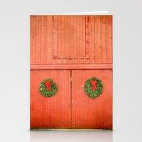 Christmas Barn Stationery Cards