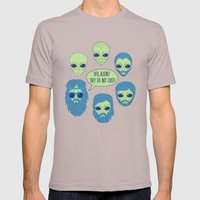 Aliens Mens Fitted Tee Cinder SMALL