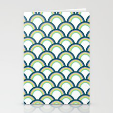 Bright Scallop Stationery Cards