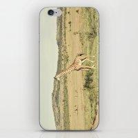 crossing::kenya iPhone & iPod Skin