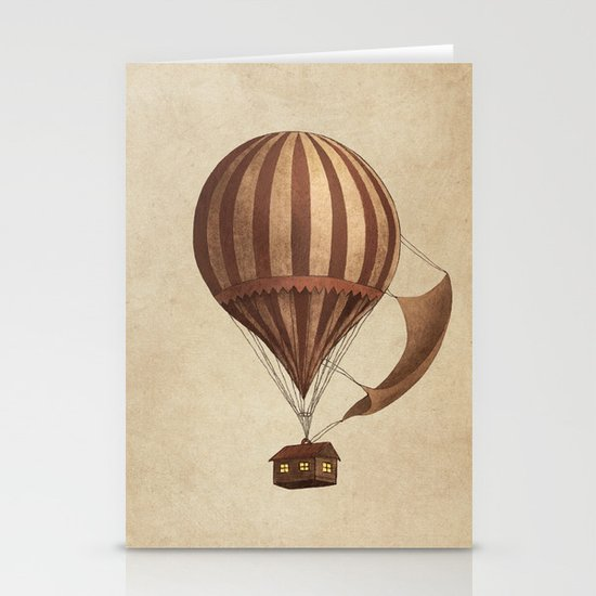 Departure Stationery Card