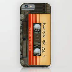 Awesome transparent mix cassette tape volume 1 iPhone 4 4s 5 5c 6, pillow case, mugs and tshirt iPhone 6 Slim Case