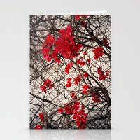 Fenced in Beauty Stationery Cards