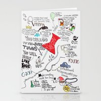 Paper towns, John Green Stationery Cards