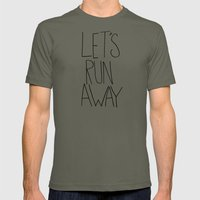 Let's Run Away: Columbia… Mens Fitted Tee Lieutenant SMALL