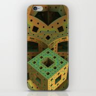 iPhone & iPod Skin featuring Puzzle Box by Lyle Hatch
