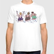 Joy At The Sea Mens Fitted Tee White SMALL