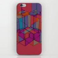 Cube Geometric I iPhone & iPod Skin