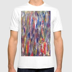 The Bathe Mens Fitted Tee SMALL White