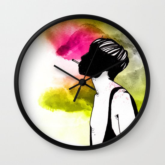 Young Liars 1 Wall Clock