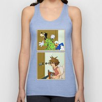 KINGDOM HEARTS: WINNIE T… Unisex Tank Top