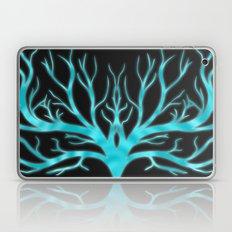 Ghostly Vines (Electric Blue Spirit) Laptop & iPad Skin
