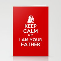 keep calm Stationery Cards featuring Keep Calm by ubertwigg