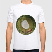 Planet Mens Fitted Tee Ash Grey SMALL