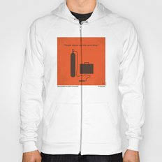 No253 My No Country for Old men minimal movie poster Hoody