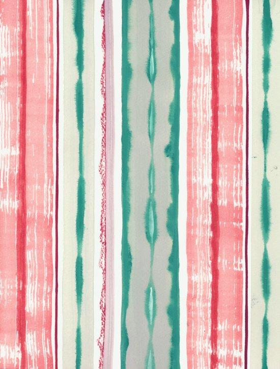 Canyon Stripe Art Print
