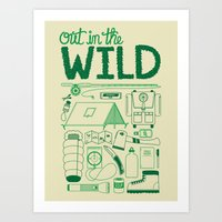 Out In The Wild Art Print