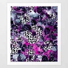 Deep Purple Art Print