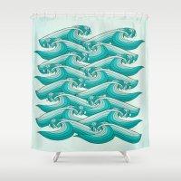 Ocean Vibes Shower Curtain
