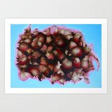 Burst I Art Print