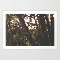 Out Of F Art Print