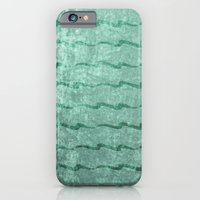 Minty Sea Green Crushed Velvet iPhone 6 Slim Case