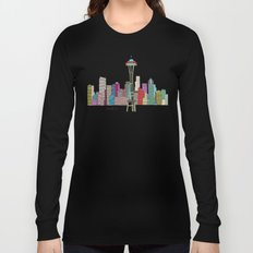 Seattle city  Long Sleeve T-shirt
