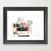 Sleepless Stalingrad Framed Art Print