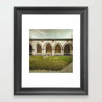 Ghost Abbey Framed Art Print